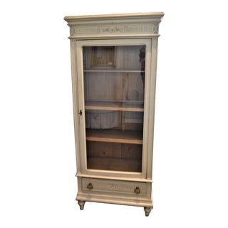 Louis XVI Style Vitrine, Display Cabinet, Bokcase. For Sale