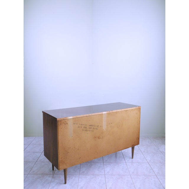 Bassett Diamond Paneled Credenza For Sale In Chicago - Image 6 of 9