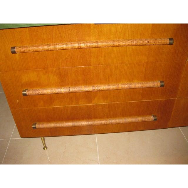 1950 Mid-Century T.H. Robsjohn-Gibbings Double Dresser - Image 9 of 10