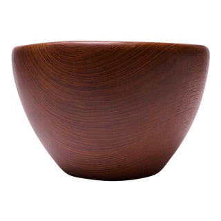 Danish Modern Teakwood Salad Bowl For Sale