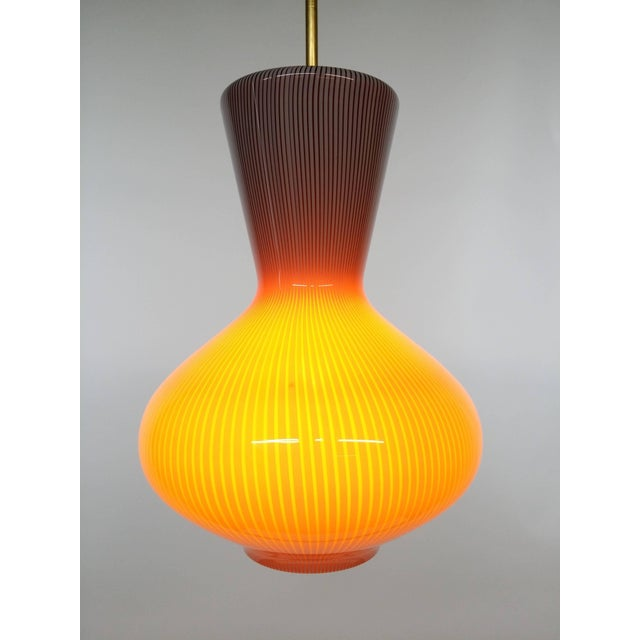 """Metal Pair of Massimo Vignelli """"Fungo"""" Lighting Fixtures For Sale - Image 7 of 9"""