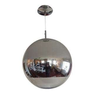 Mirror Ball Pendant Light in Silver by Tom Dixon For Sale