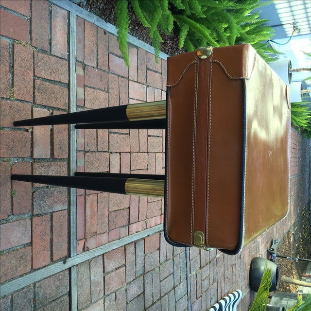 Vintage Suitcase Side Table - Image 4 of 7