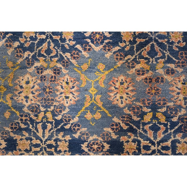 Antique Indian Agra Cotton Rug For Sale In New York - Image 6 of 7
