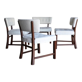 Edward Wormley Dining Chairs for Dunbar, Circa 1957 - Set of 4 For Sale