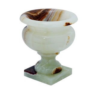 Light Green Onyx Planter