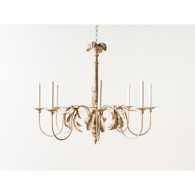 Antique White Visual Comfort Savona Chandelier For Sale - Image 8 of 8