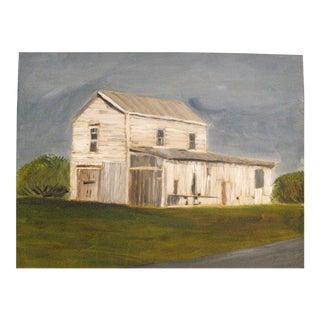 """East Main Street Garage"" Painting"