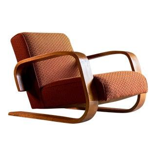 1940s Vintage Alvar Aalto Tank Chair Model 400 by Artek Finland For Sale