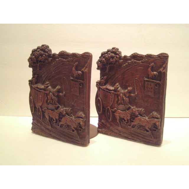 1930's-40's Syroco Bookends - Image 7 of 8