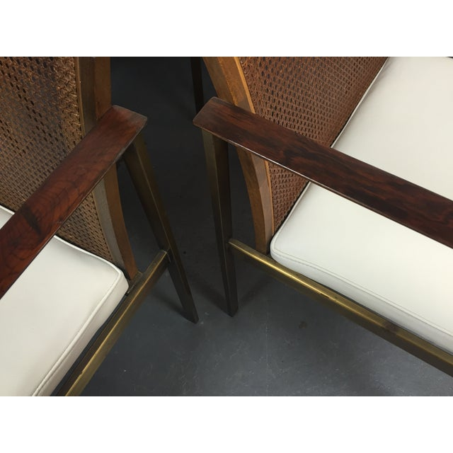 Paul McCobb Cane & Leather Dining Chairs - S/6 - Image 11 of 11