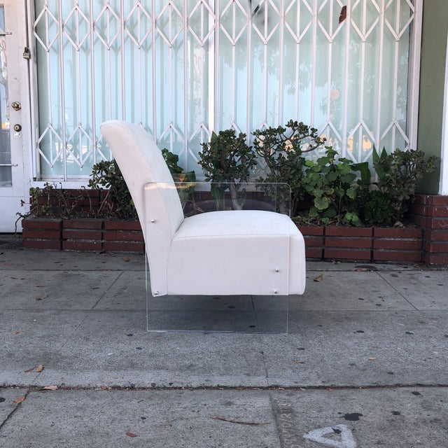 Vintage Lucite Lounge Chairs - A Pair For Sale In Los Angeles - Image 6 of 12