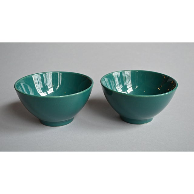French Coffee Bowls - A Pair - Image 2 of 5