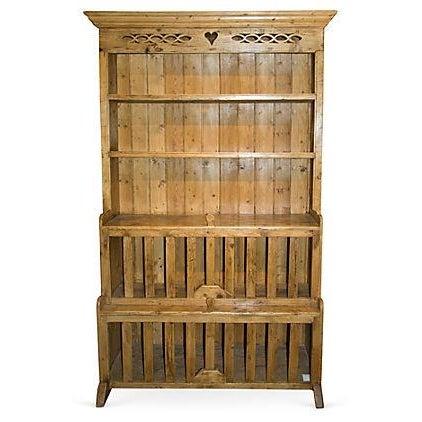 Antique Irish Pine Cupboard - Image 1 of 6