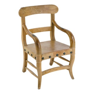 Rustic Michael Taylor Pine Chair For Sale