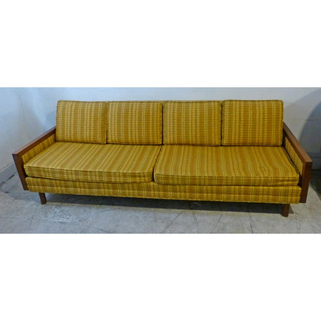 Mid-Century Modern Walnut Couch - Image 5 of 8