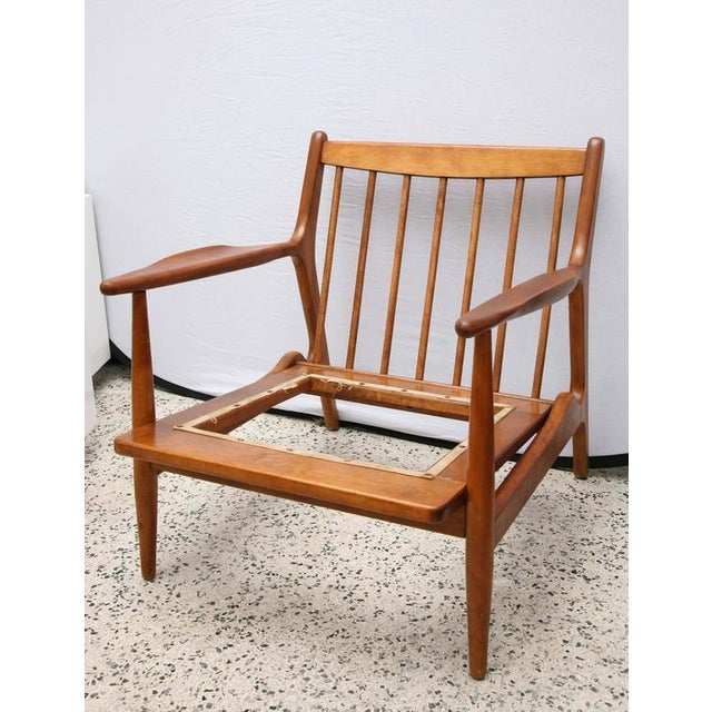 1950s Teak Chair by Conant Ball, 1950s, Usa For Sale - Image 5 of 9