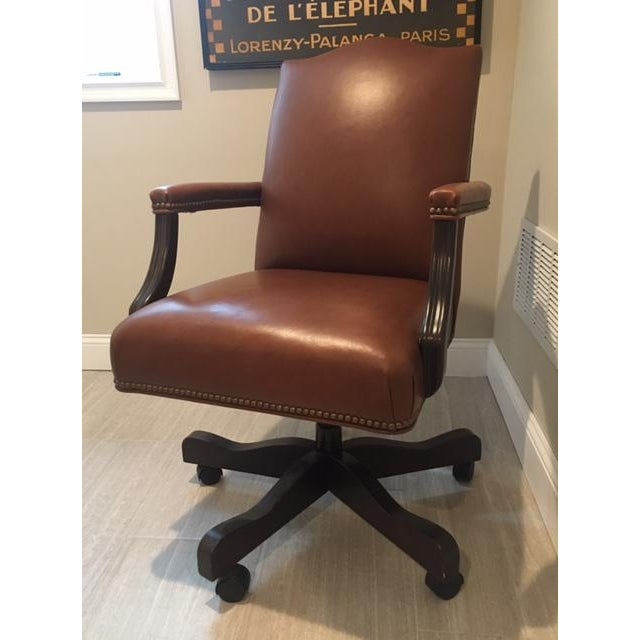 The picture-perfect workspace starts with the selection of a comfortable and well-appointed desk chair. The Lee is just...