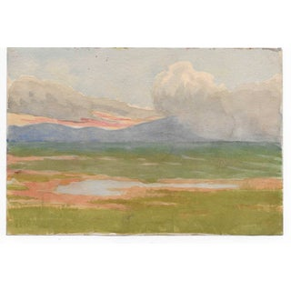 1920s California Landscape Painting by Harnett For Sale