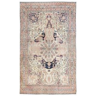 Antique Persian Kerman Rug - 10′9″ × 17′6″ For Sale