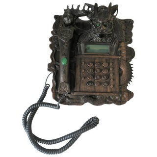 Chinese Dragon Landline Telephone, 1980s For Sale