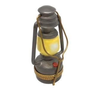 Limoges Kerosene Lantern With Handle For Sale