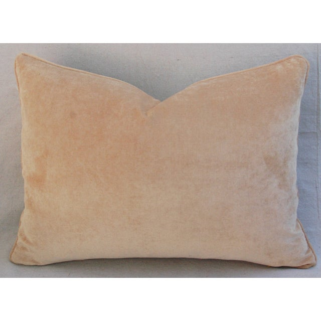 Custom Scalamandre Silk Lampas Pillows - Pair - Image 11 of 11