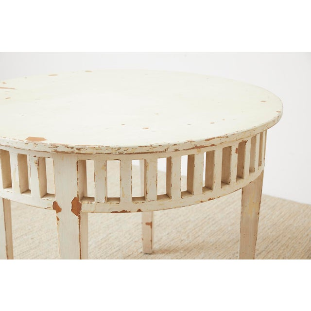 Pair of Richard Mulligan Distressed Centre or Side Tables For Sale - Image 10 of 13