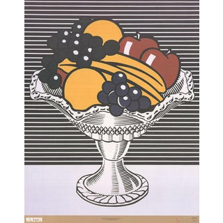Roy Lichtenstein, Still Life With Crystal Bowl, 2002 Poster