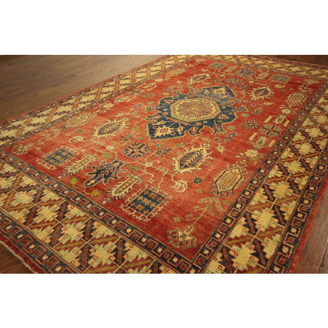 "Mojave Collection Kazak Rug - 7'5"" x 11'5"" - Image 4 of 11"