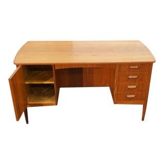 Danish MCM Teak Desk - Vigrid For Sale