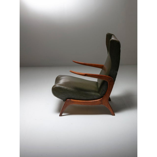 Italian Set of Two Bergères With Footrest For Sale - Image 3 of 11