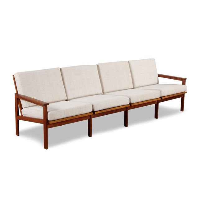 Restored Vintage Illum Wikkelso Adjustable Sofa - Image 2 of 6