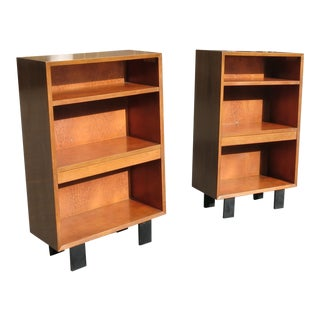 George Nelson Mid-Century Nightstands - A Pair