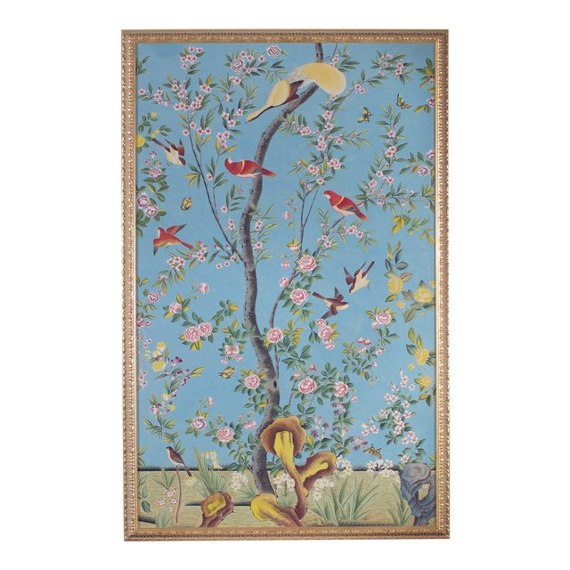 Chelsea House Inc Red Birds Panel Painting For Sale