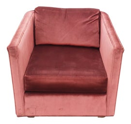 Image of Brick Red Club Chairs