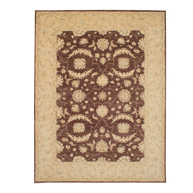 """Classic Hand-Knotted Rug, 9'1"""" X 11'10"""" For Sale"""
