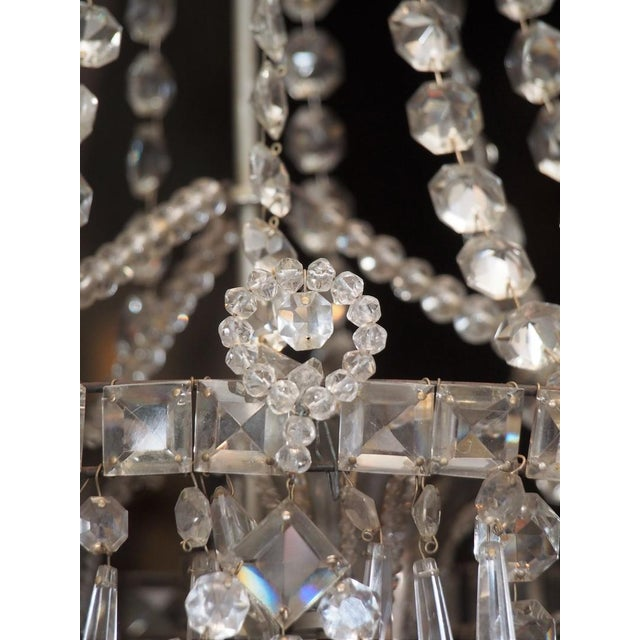 Early 19th Century French Crystal Chandelier For Sale - Image 4 of 6