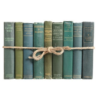 Vintage Boxwood ColorPak - Decorative Books in Shades of Green