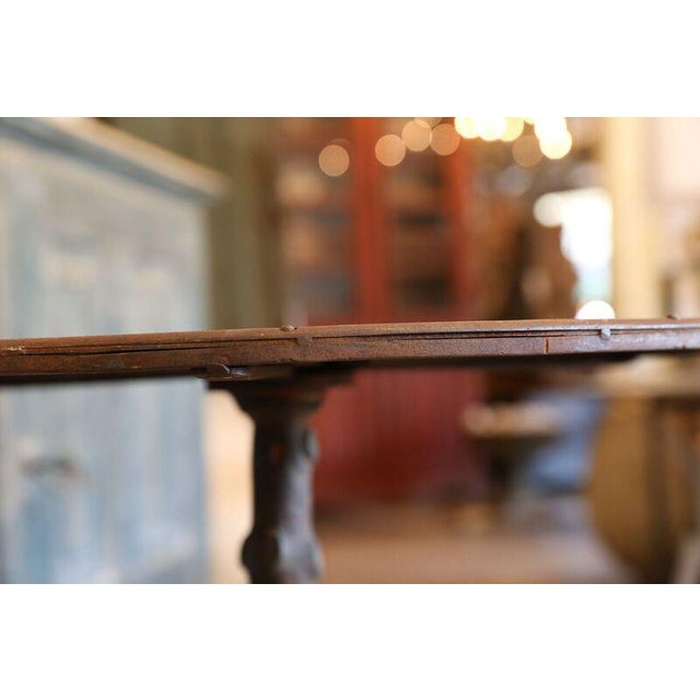 1950s Faux Bois Gueridon Table For Sale - Image 5 of 9