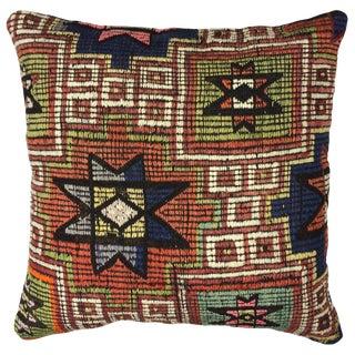 "Rug & Relic Kilim Pillow   18"""