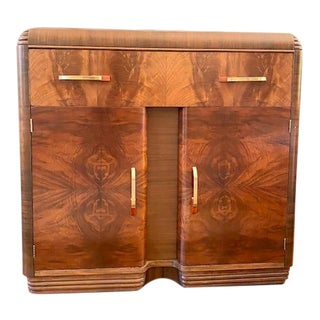 1930s Art Moderne Buffet For Sale