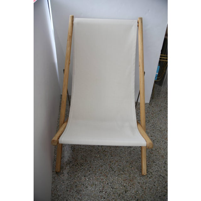 Wood Gloster Modern Adjustable Teak Lounge Chairs - a Pair For Sale - Image 7 of 13