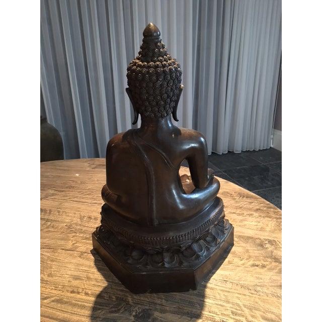The Medicine Buddha Figurine For Sale - Image 4 of 5