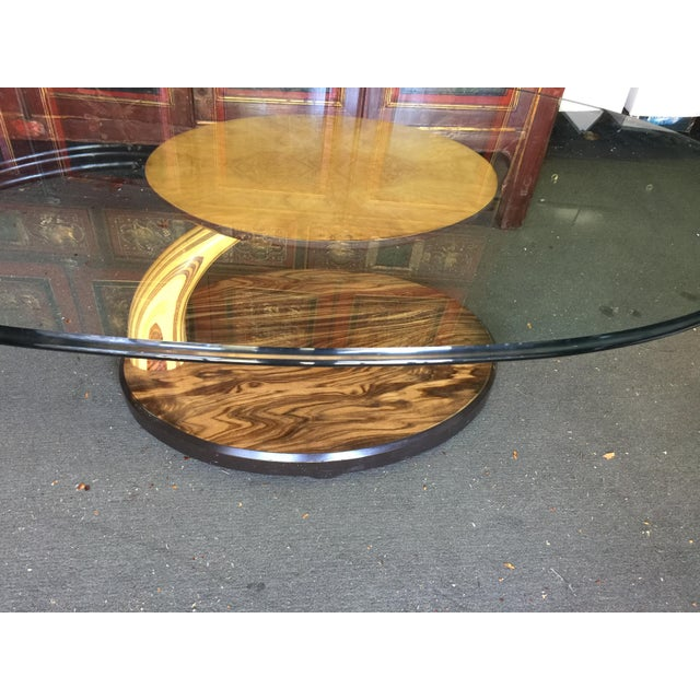 Glass Henredon Scene Two Coffee Table Mid Century Modern For Sale - Image 7 of 8