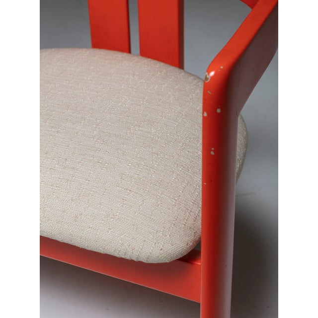 """1950s Set of Two """"Pigreco"""" Chairs by Tobia Scarpa for Gavina For Sale - Image 5 of 7"""