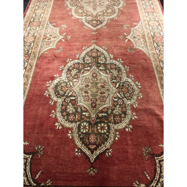 "Vintage Sivas Turkish Rug - 5'4""x14'5"" - Image 3 of 8"