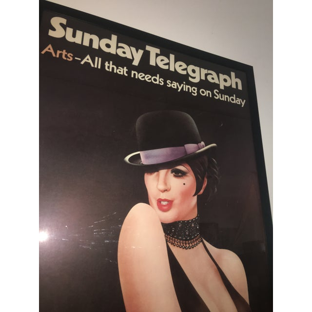 1972 London Telegraph Lisa Minnelli Cabaret Poster - Image 7 of 11