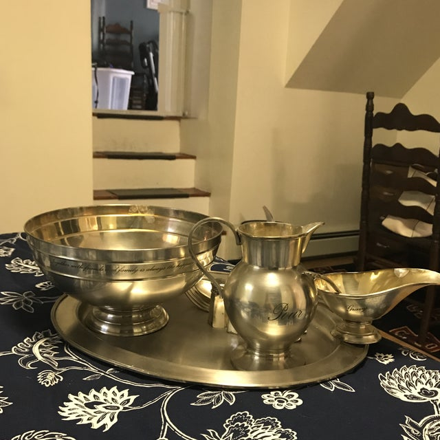 American Classical Traditional Silver Set - Set of 6 For Sale - Image 3 of 8