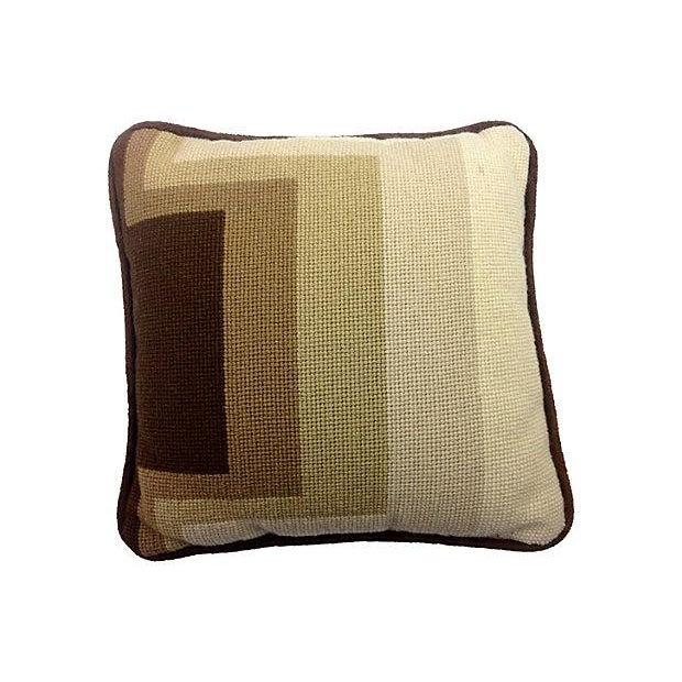 Mod Needlepoint Pillows - Set of 3 - Image 5 of 5